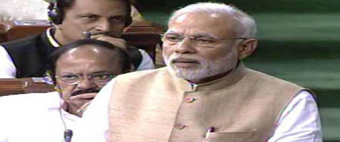 Modi lauds Radha Mohan's gift of gab