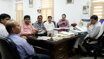 NAFED team meets Minister