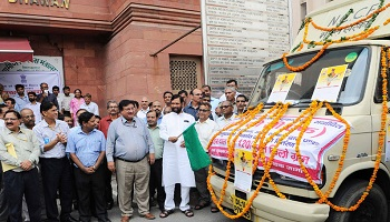 NCCF: Paswan flags off van; Bijender not to be found