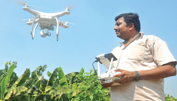 Fascinating story of farmer-developed drone