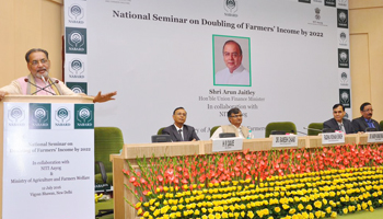 Doubling income: Singh urges Nabard to be partner