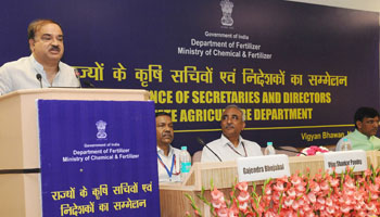 Kumar moots idea of Indian Council for Fertilizers Research
