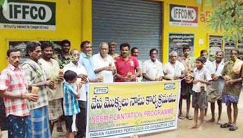 "IFFCO's ""Plant a neem"" drive goes southward"