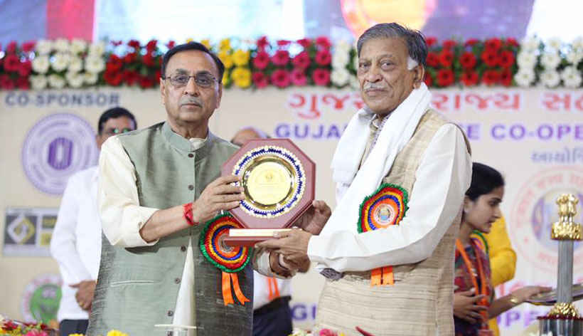 Rupani lists Gujarat's contributions in co-op movement