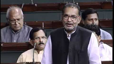 LS: Singh bats for 5 hours, yet Congress stages walk out