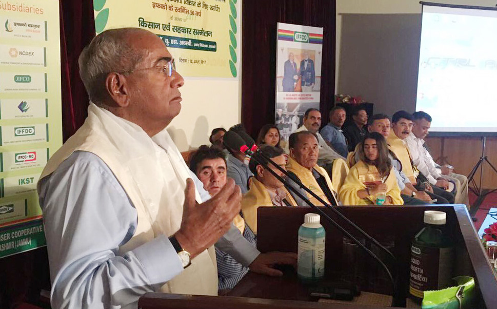 IFFCO MD meets farmers on highlands of Leh-Ladakh
