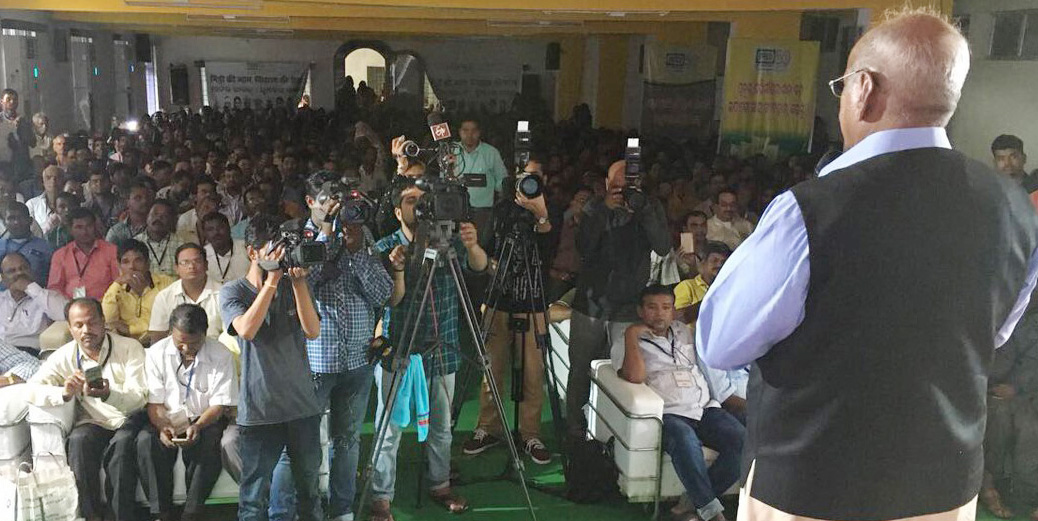 IFFCO: Farmers throng MD's meets in Odisha