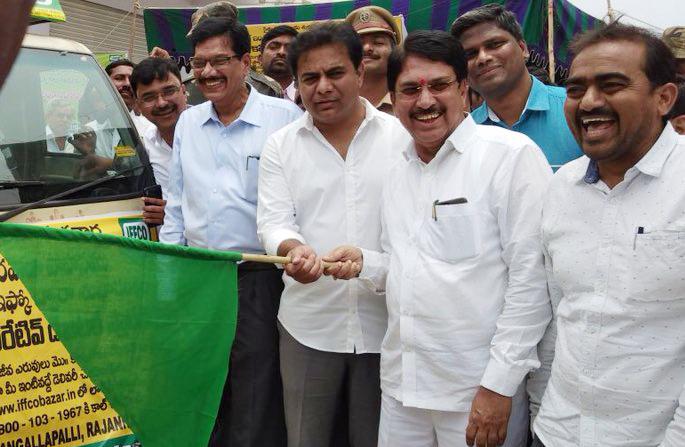 IFFCO celebrates Telangana Day by opening Bazar